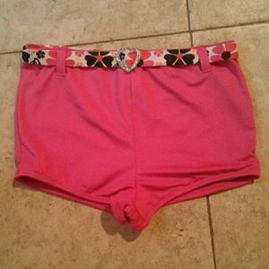 Other - Cute Swimsuit Bottoms With Glitter Heart Belt